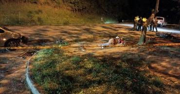 Otro motociclista perdió la vida, accidente en la vía Chagualá