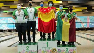 Quindío ganó 2 medallas en Nacional de Bolos