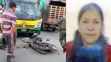 Presumen imprudencia de motociclista en accidente fatal entre Calarcá y Barcelona