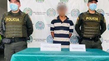 Señalado de homicidio fue detenido en Quimbaya