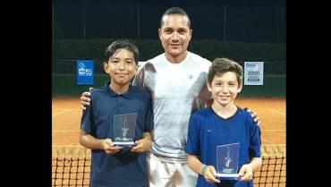 Dos títulos y dos subcampeonatos para Quindío en grado 4 de tenis