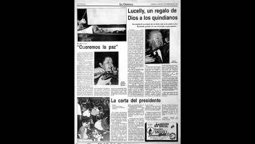 En 1994 asesinaron a Lucelly García