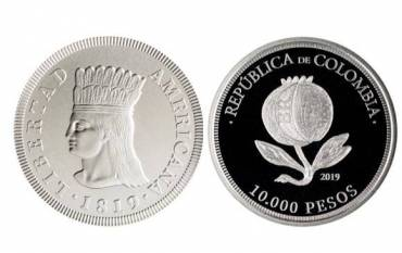 Moneda conmemorativa de $10.000 comenzó a circular en el país