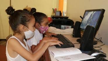En Vereda de Pijao los niños tienen internet gratuito gracias a un particular