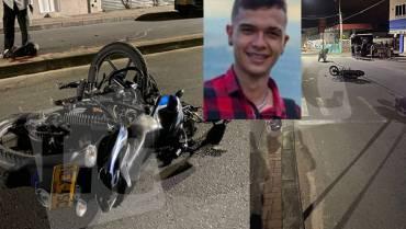 Motociclista de 20 años murió en accidente ocurrido en Calarcá