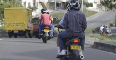 Por la visita del presidente, ordenan restringir circulación de motos con parrillero