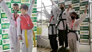 Quindío ganó 8 medallas en la Copa Aurora de Taekwondo