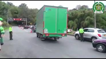 Operativos de la Policía Quindío durante puente festivo