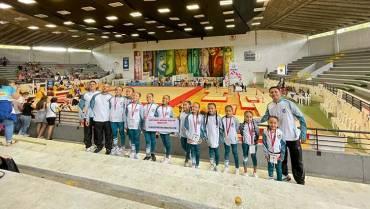Club Quindiano de Gimnasia brilló en el nacional