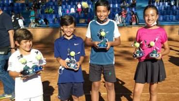 El Quindío ganó 2 títulos en copa de tenis jugada en Pereira