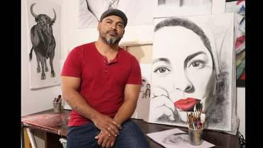 Rubén Darío dibuja la vida y pinta los días