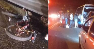 2 ciclistas muertos en accidente en la vía Calarcá - Armenia