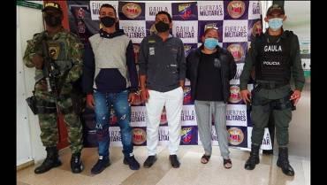Capturaron 9 integrantes de una banda que extorsionaba en el Quindío